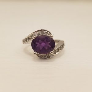 Jewelry - Amethyst ring, size 6